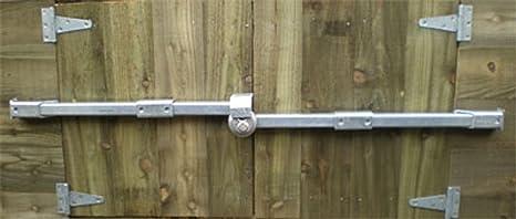 crookstopper cobertizo cerradura de la puerta, barra de ...