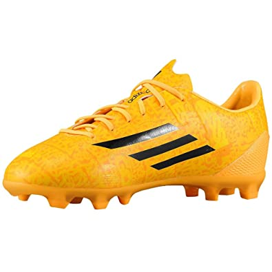 quality design f6bbc ce980 Adidas F50 Adizero Junior Lionel Messi Soccer Cleat (Solar Gold) Sz. 5.5