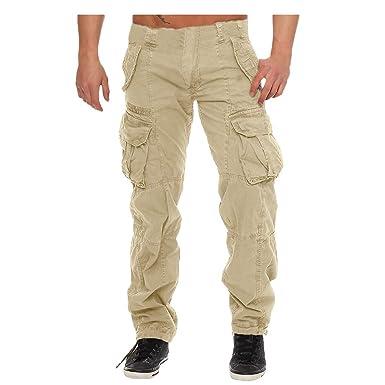 Vectry Pantalones Hombre Pantalones De Chándal Casual Pantalones ...