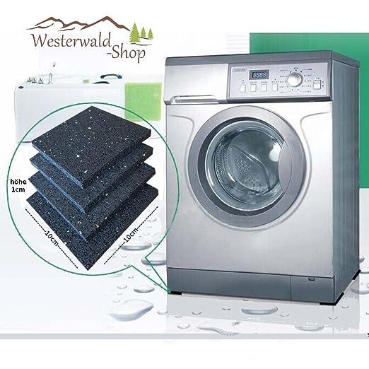 4 - rutschpads 10 cm X10 CM X 10 mm Base lavadora Pads integradas ...