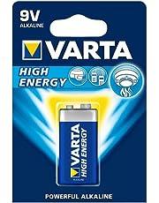 Varta - Piles - E - High Energy Alkaline - 9 Volt