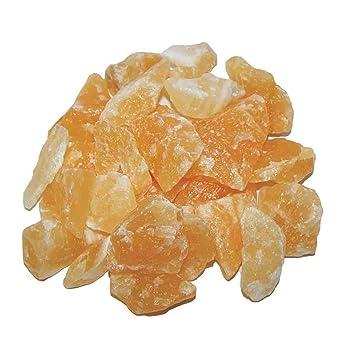 1 Kg Orangen Calcit Rohsteine Rohstücke Aus Mexiko Schöne Orange
