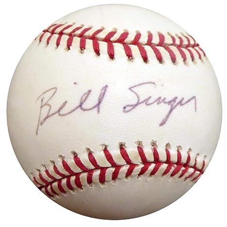 cd26cbd1d Bill Singer Autographed Baseball - Official NL Beckett BAS  E48504 -  Beckett Authentication - Autographed Baseballs at Amazon s Sports  Collectibles Store