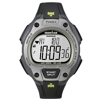 amazon com timex men s t5k719 ironman road trainer digital hrm flex rh amazon com Timex Ironman Triathlon Watch Timex Ironman Indiglo