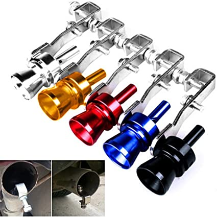 TR.OD Universal Turbo Sound Whistle Exhaust Pipe BOV Aluminum Car Motorcycle Accessories