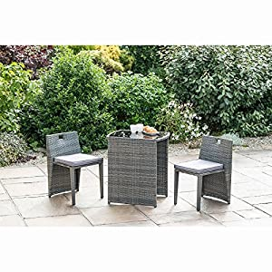 Bistro Set In A Beutiful Garden