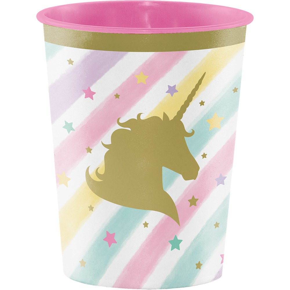 Unicorn Sparkle Plastic Keepsake Cup Creative 329303