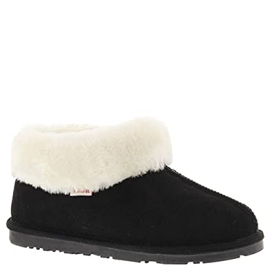 Tamarac by Slippers International Women's Leddi Slipper (6 B(M) US, Black