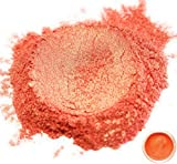 50gr ''Rikugien Orange'' Mica Powder Pigments (Resin, Paint, Epoxy, Soaps, Nail Polish, Liquid Wraps)