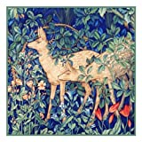 Forest Deer by William Morris Counted Cross Stitch Pattern