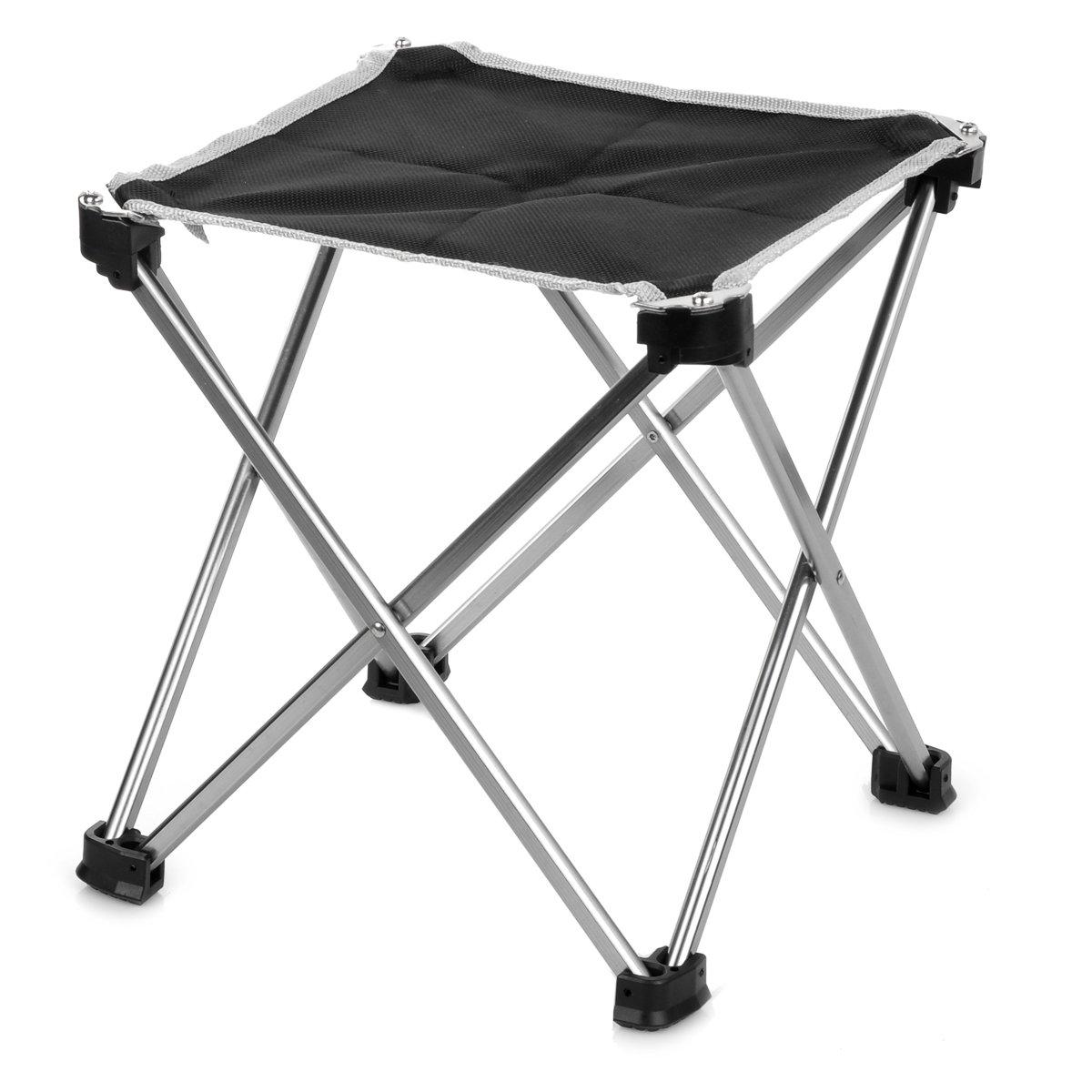 アウトドア折りたたみ式Square釣り椅子/キャンプstool-ultraライトアルミニウム合金(サイズL ) B077JSGLD2