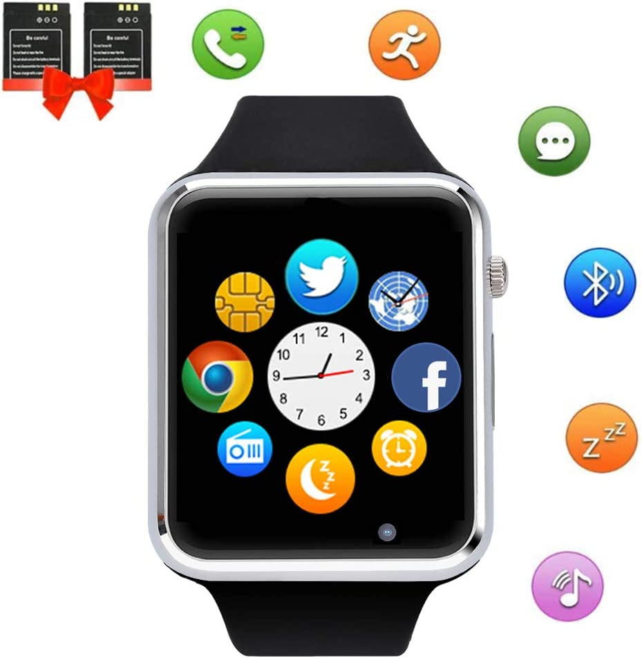 ANCwear Smart Watch, Bluetooth Sports Watches with Pedometer ...
