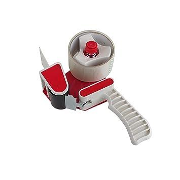 Rot 2x Abroller Handabroller für Klebeband Paketband Verpackung Versand Lager