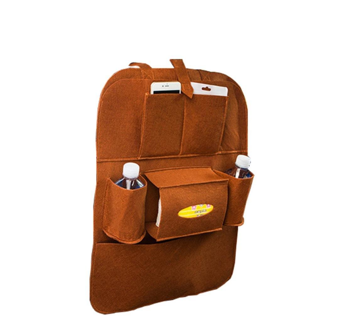 MALLOOM Car Auto Seat Back Multi-Pocket Hanger Storage Bag Organizer Holder Container (Purple) MALLOOM00002480