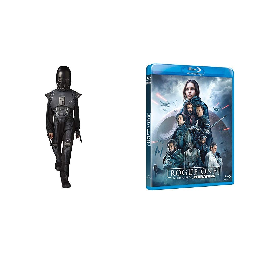 Rogue One Blu-Ray + DISFRAZ K-2SO DELUXE INF: Amazon.es: Cine y ...