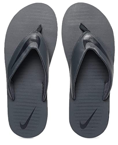 buy popular e6653 574c6 Nike Men's Thunder Blue/Blackened Blue Chroma Thong 5 Flip Flops  (N833808-410)