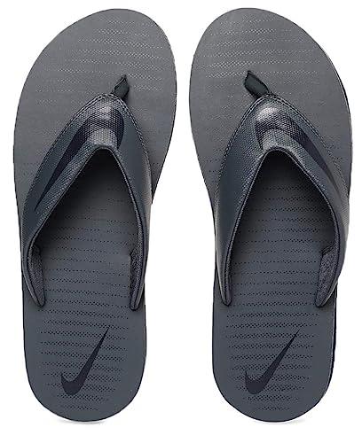 d09a613b0020 Nike Men s Thunder Blue Blackened Blue Chroma Thong 5 Flip Flops  (N833808-410
