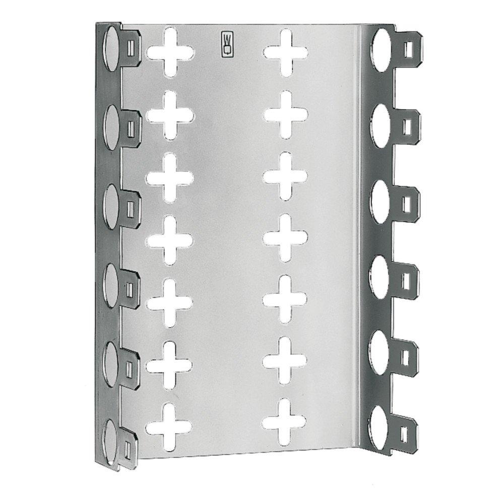 3M 02151037 LSA-Plus Montagewanne, 79151-509 25, Baureihe 2, Raster 27,5 mm, Tiefe 30 mm fü r 11 Leisten, Metal (2-er Pack) 7000063300