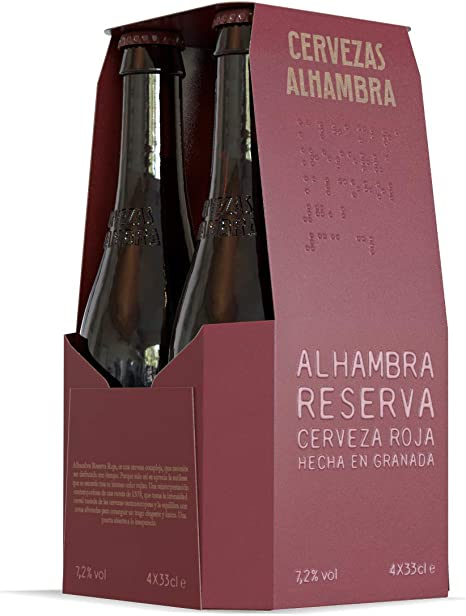 Alhambra - Reserva Roja Cerveza Bock Lager, 7.2 % Volumen de ...