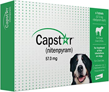 Capstar Fast-Acting Oral Flea action For Larger Dogs