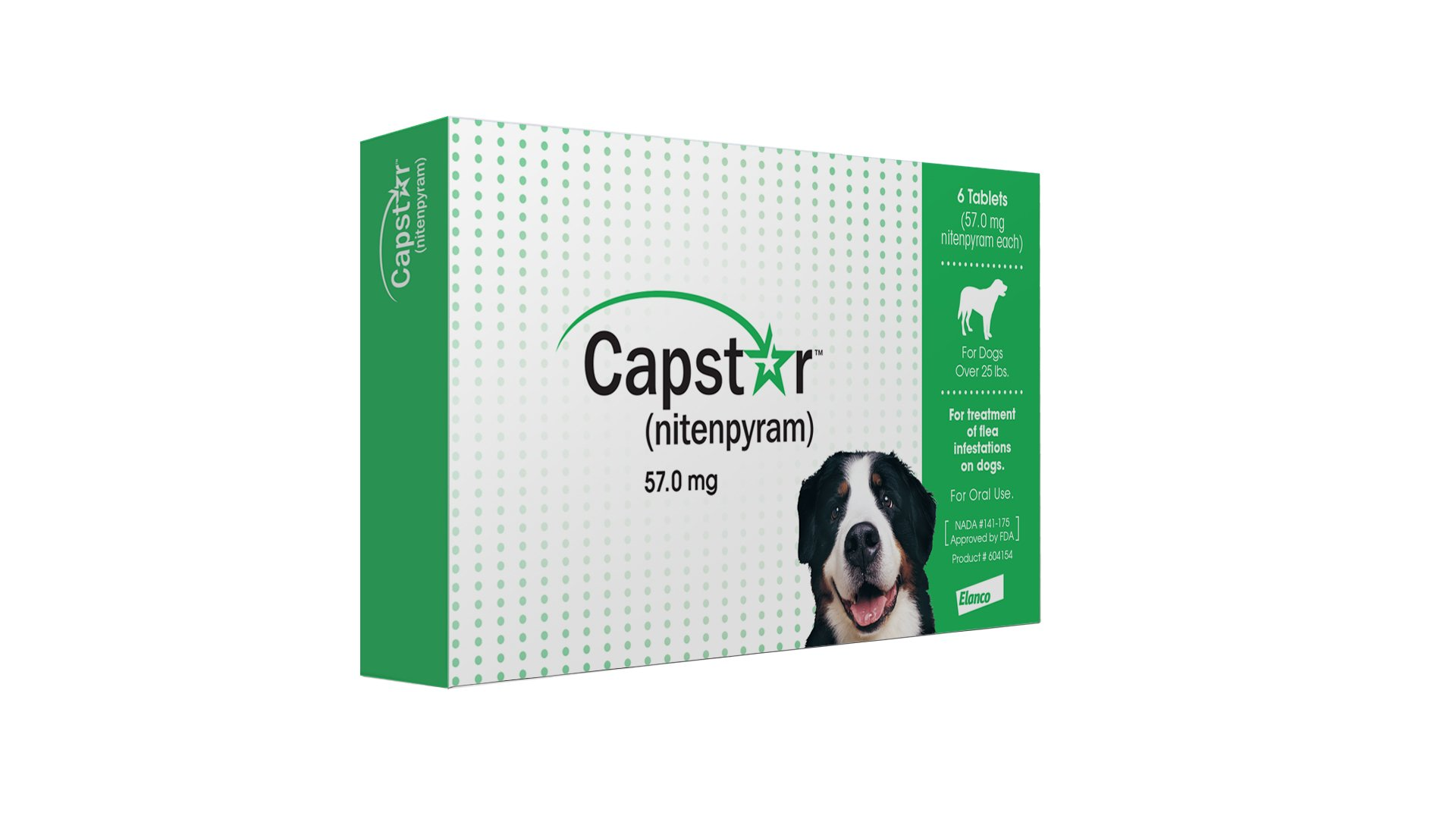 Elanco-Animal-Health-Capstar-Green-Box-Flea-Oral-Treatment-for-Large-Dogs-Over-25lbs-6-PillTablets