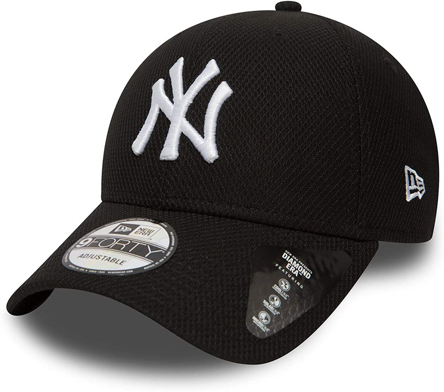 A NEW ERA Gorra 9Forty MLB York Yankees Diamond Negro/Blanco Talla ...