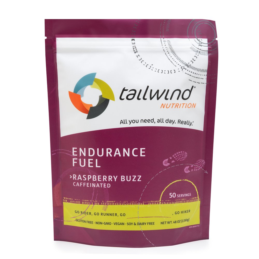 Tailwind Nutrition Caffeinated Endurance Fuel Raspberry Buzz 50 Serving by Tailwind