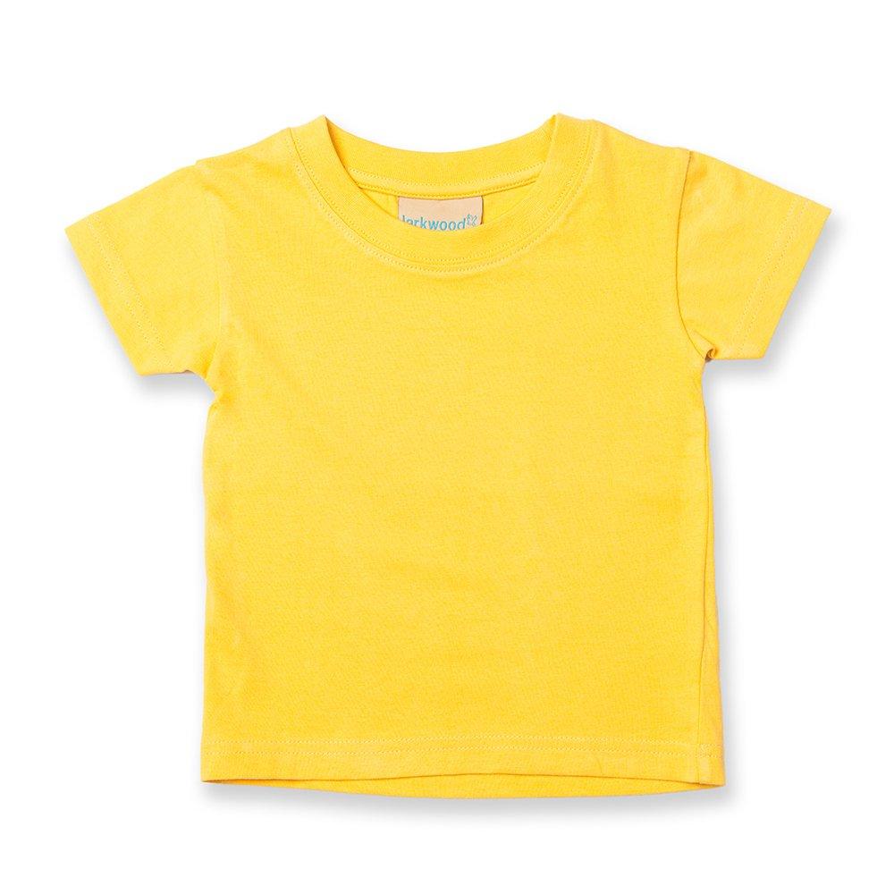 Larkwood - Maglietta per Neonato 100% Cotone (0-6 mesi) (Azzurro)