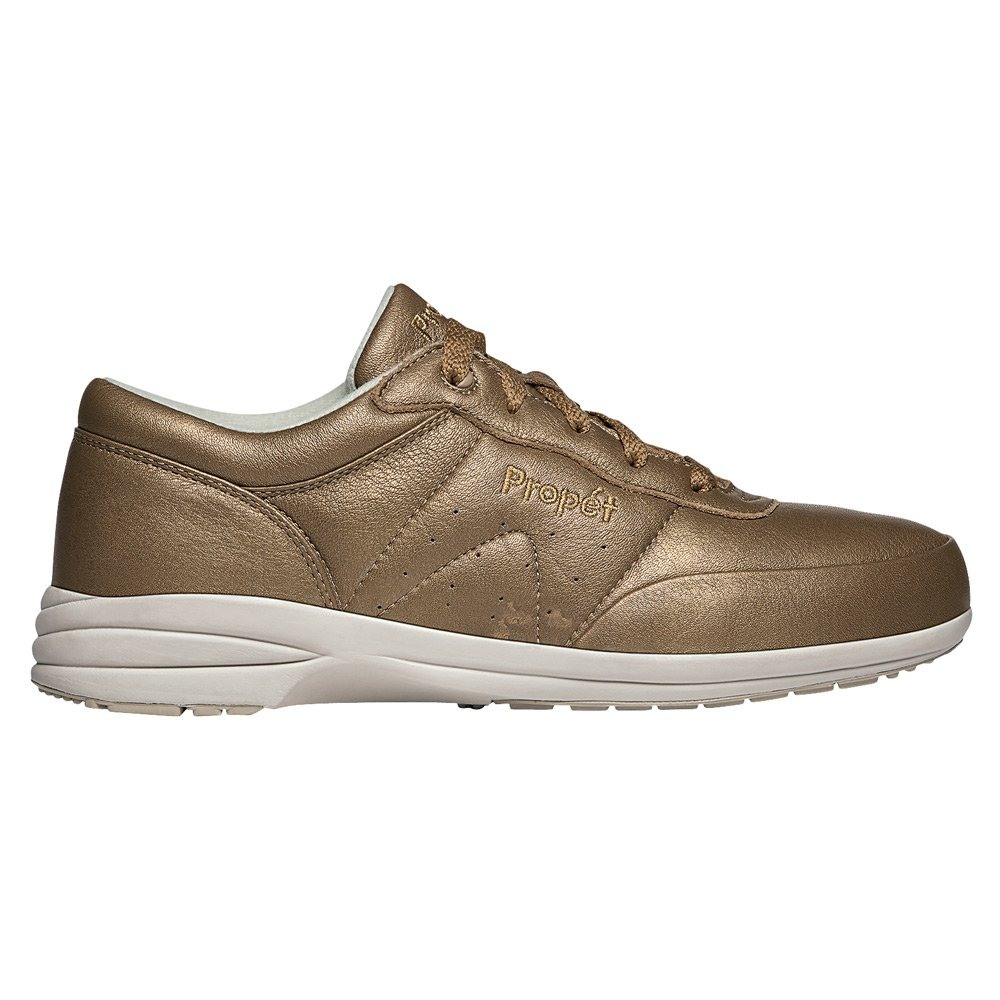 Propet Women's Washable Walker Sneaker B019S1ERHI 8.5 Slim US|Bronze