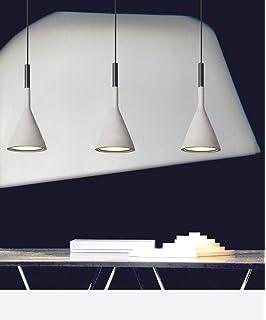 Hängele Küche light moderne hängeleuchte aus beton in grau amazon de beleuchtung