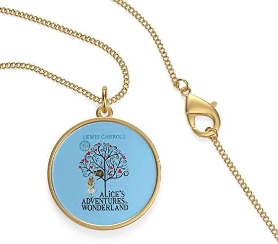 For Reading Addicts Alice in Wonderland Single Loop Necklace