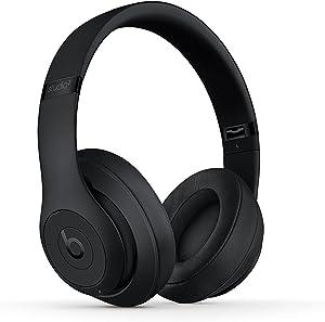 Beats Studio3 Wireless Headphones - Matte Black (Renewed)