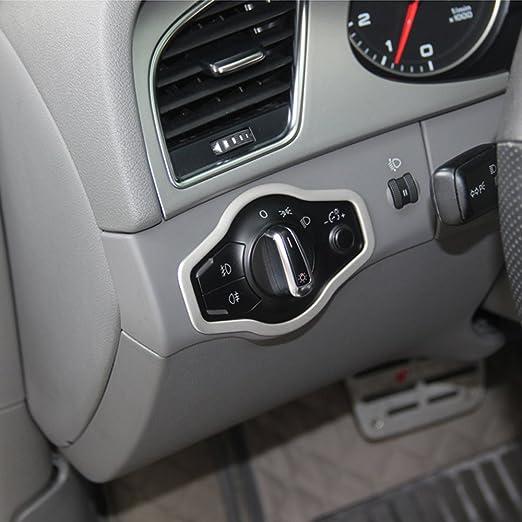El interior del coche Faro botón interruptor cover Trim: Amazon.es: Coche y moto