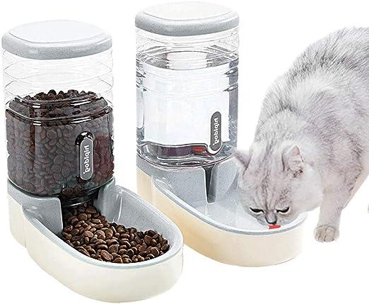 Fairy Tale - Comedero automático para Mascotas pequeñas y Medianas y pequeñas, 3,8 L, alimentador de Alimentos y dispensador de Agua para Perros, Gatos, Mascotas Animales: Amazon.es: Productos para mascotas