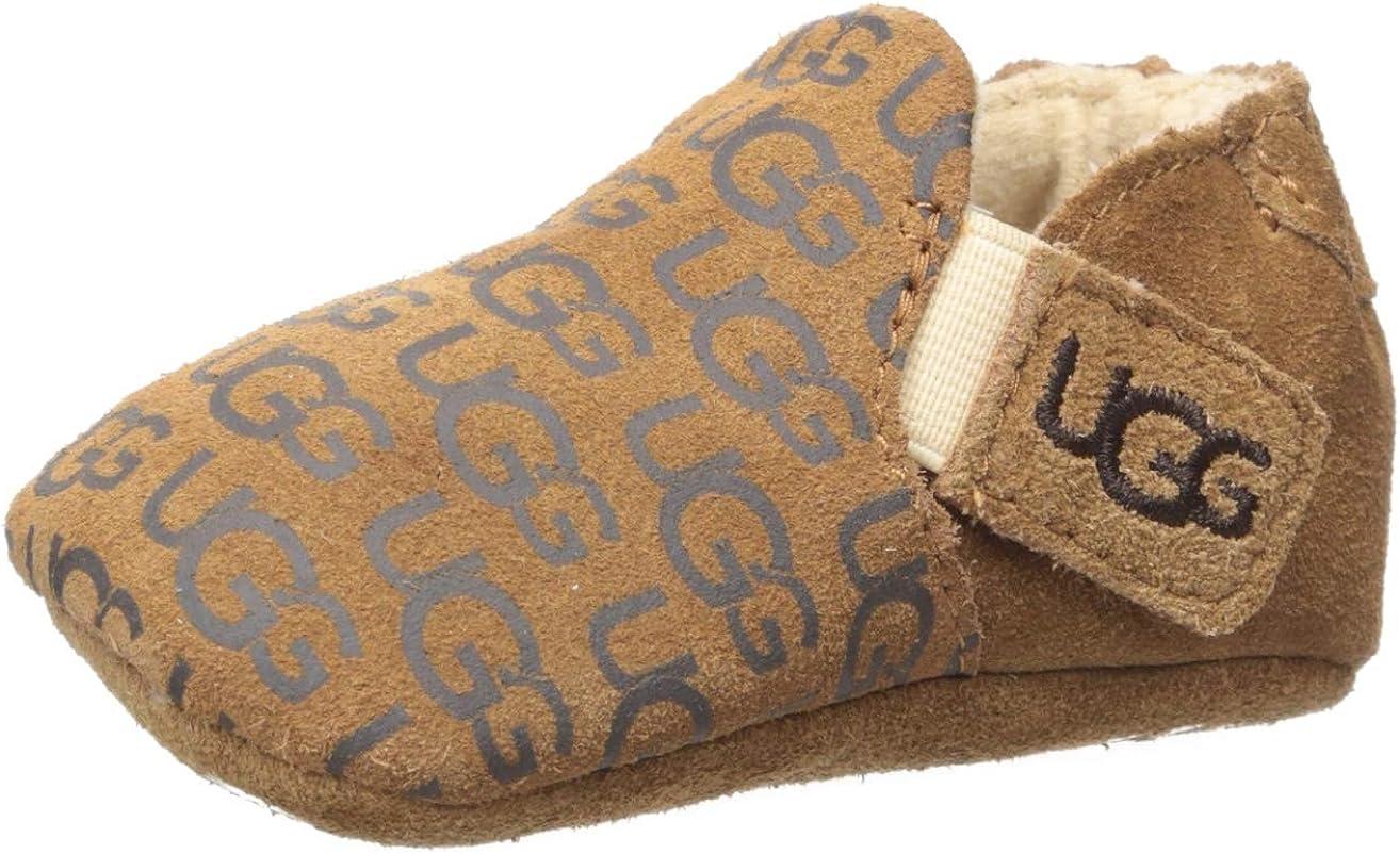 Amazon.com | UGG Kids' Roos Crib Shoe