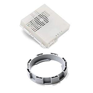 Kenmore 154861101 Dishwasher Vent Assembly and 154562902 Dishwasher Vent Bezel Bundle