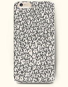 Millions Beige Cat - Cute Animal - Phone Cover for Apple iPhone 6 Plus ( 5.5 inches ) - SevenArc Authentic iPhone...