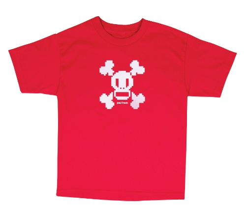 (Paul Frank Boys' Skurvy Digi Short Sleeve T-Shirt (Red, Medium))