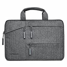 Satechi Water-Resistant Laptop Carrying Case w/ Pockets fits MacBook, Microsoft Surface Pro, Samsung Chromebook and more