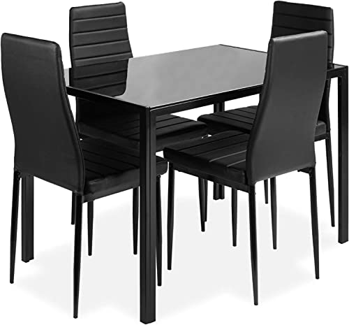 DKLGG 5-Piece Kitchen Dining Table Set