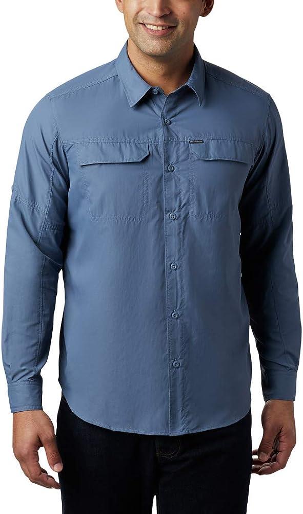 Columbia Silver Ridge 2.0 Camisa de Manga Larga, Hombre, Azul (Mountain), M: Amazon.es: Deportes y aire libre