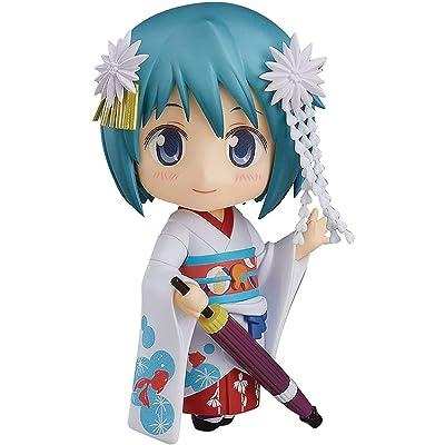 Good Smile Puella Magi Madoka Magica: Sayaka Miki (Maiko Version) Nendoroid Action Figure: Toys & Games