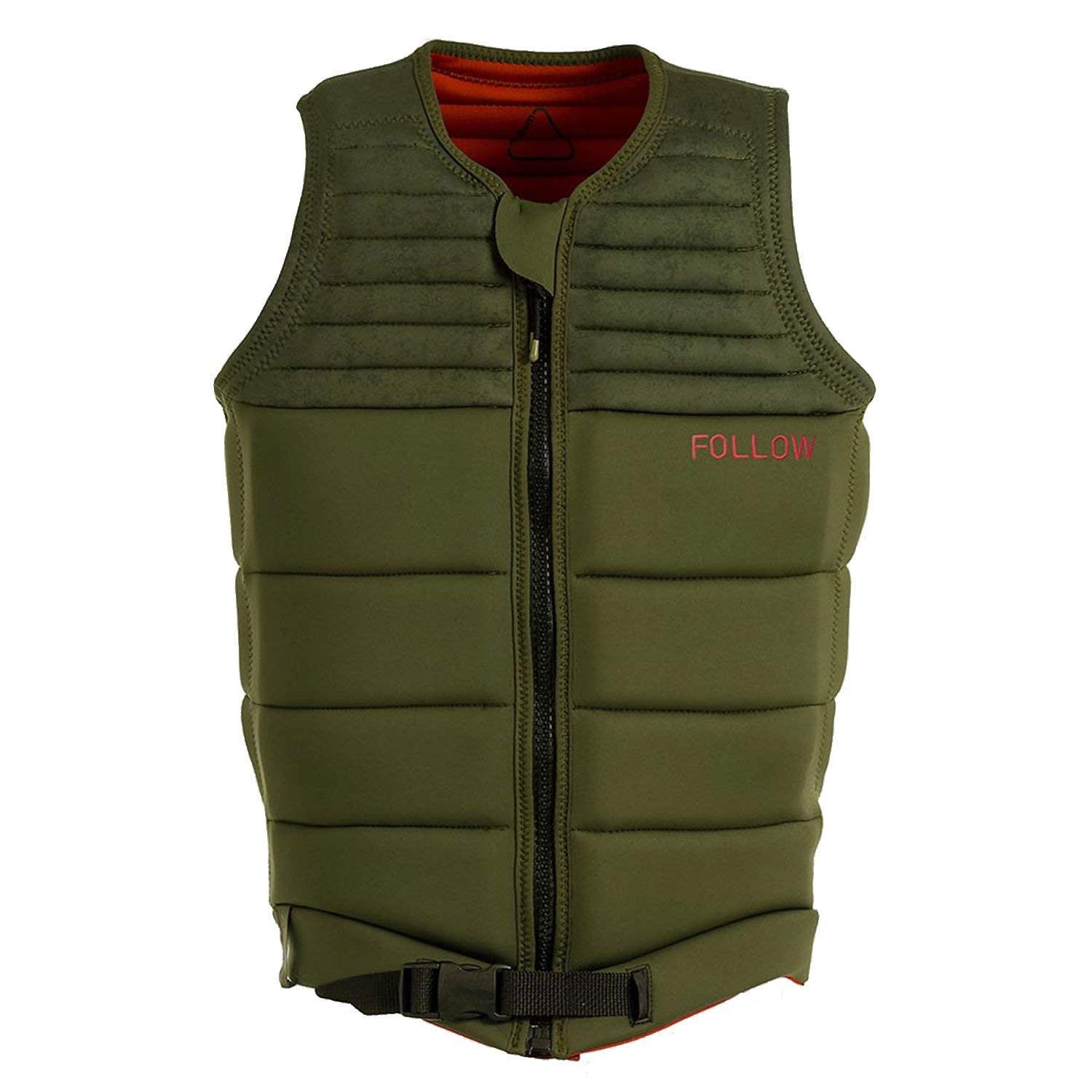 Follow Cody NCGA Wakeboard Vest Olive Mens Sz L by Follow