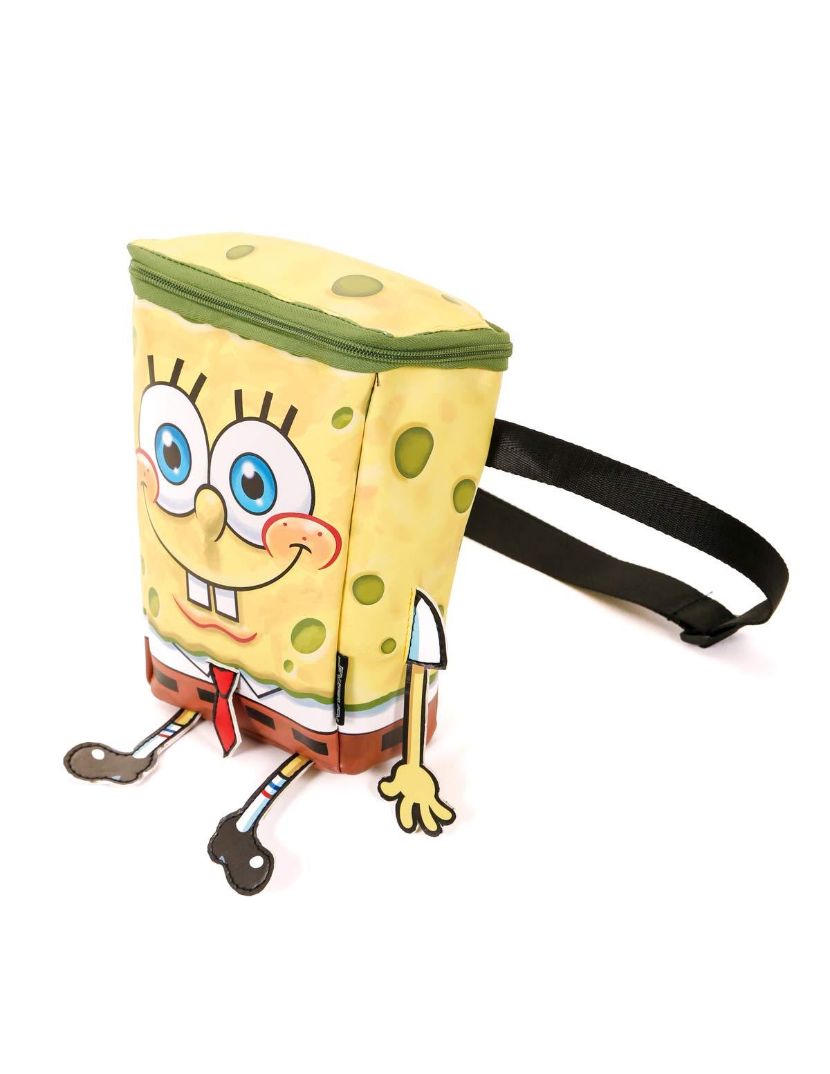 FYDELITY- Kid Backpack Cooler Lunch Box: NICK Nickelodeon 90's SpongeBob Square