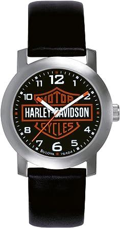 Harley Davidson - Reloj analógico de Cuarzo para Hombres