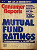 Consumer Reports May 1990 - Mutual Fund Ratings: Performance and Safety of 290 Stock Funds/ How Safe are Generic Drugs?/ Dishwashers, Bicycle Helmets, Electric Skillets, Chain Saws, Travel Irons