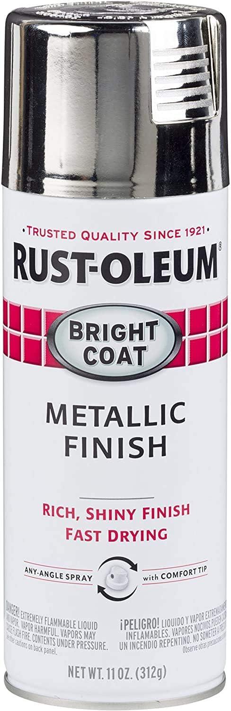 Rust-Oleum 7718830 Chrome Metallic Spray Paint