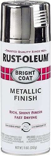 Rust-Oleum Bright Coat Chrome Spray Paint