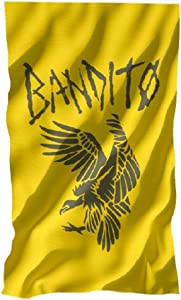 Twenty One Pilots Trench Album Bandito Printed Flag 5'x3' Yellow Color Bandito Flag