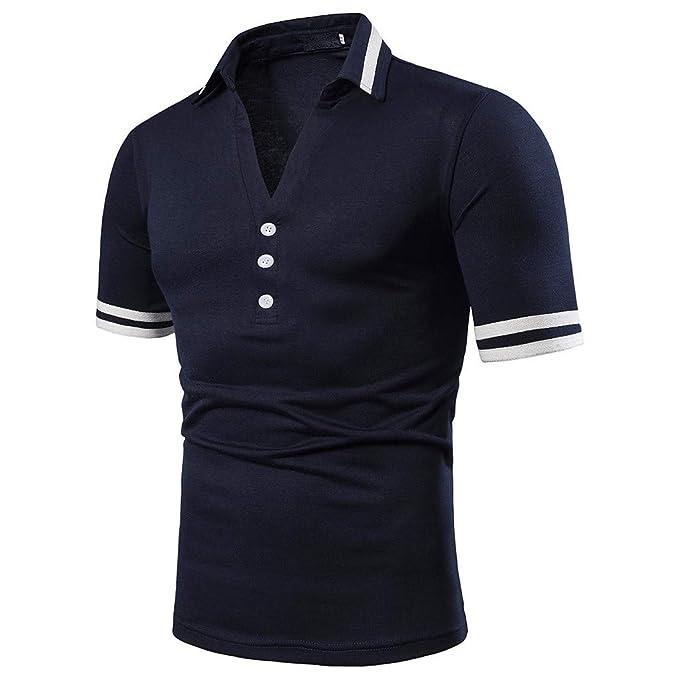 ESAILQ Camisa Bambú Fibra Hombre, Manga Corta, Color Sólido Slim Fit, Color Sólido, Camisa Elástica Casual/Formal para Hombre: Amazon.es: Ropa y accesorios